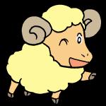 羊ウインク