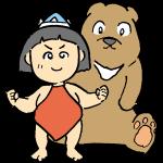 金太郎と熊