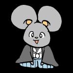 ネズミ着物2