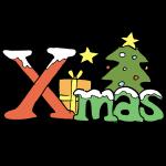 クリスマスロゴ