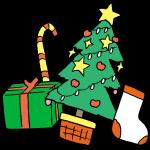 ツリーとプレゼントその1