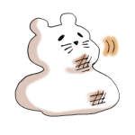 ネズミの形鏡餅