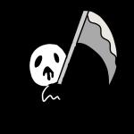 鎌を持った死神