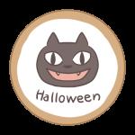 アイシングクッキー(黒猫)