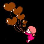 チョコ風船