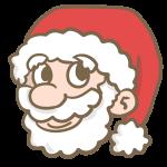 サンタの顔
