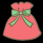 クリスマスギフト(緑)