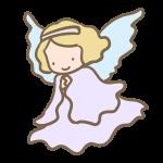 天使(水色)