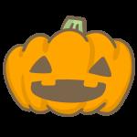 おばけかぼちゃ(目が三角)
