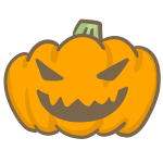 おばけかぼちゃ(怒り)