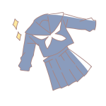 新しい制服(セーラー)