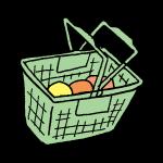 スーパーのカゴ