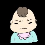 怒る赤ちゃん