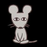 おすわりネズミ