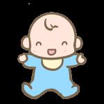 笑う赤ちゃん(男の子)