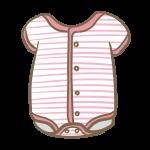 ロンパース(ピンク)