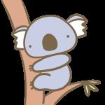 木のぼりコアラ