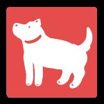 犬のはんこ(四角)