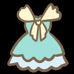 パーティドレス(ブルー)