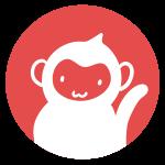 猿のはんこ(丸)