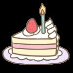 バースデーケーキ(カットケーキ)