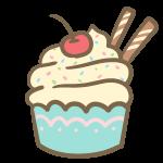 カップケーキ(生クリーム)