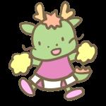 辰のチアリーダー(ピンク)