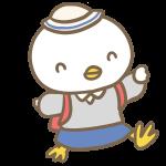小学生の鶏(女の子)