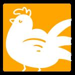 おすましな鶏