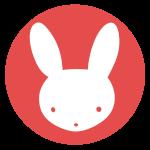 ウサギのはんこ(丸)