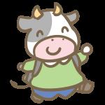 牛の小学生(男の子)