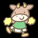 牛のリアリーダー(緑)
