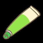 塗り薬(緑)