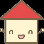 かわいい家(赤)