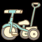 三輪車(かじとり付き)