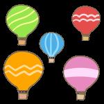 気球(複数)