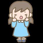 可愛い女の子(泣く)