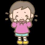 ボーイッシュな女の子(泣く)