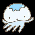 かわいいクラゲ