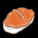 赤貝の握り寿司