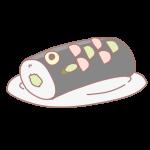鯉の形のお寿司