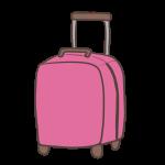 キャリーバッグピンク