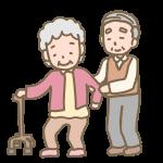 老老介護(母と息子)