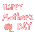 「 HAPPY Mother's DAY 」文字