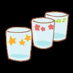 三つのコップ