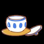 湯のみと茶托