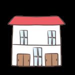 赤い屋根の賃貸