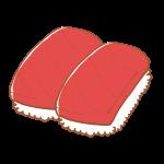 まぐろのお寿司