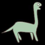 えさを探す恐竜