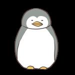 眠るペンギン